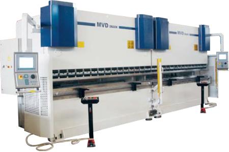 Гидравлический листогиб тандем — 6 метровый, 600 тонн CNC THAP 6/600